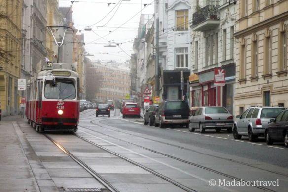 Tranvía en Viena