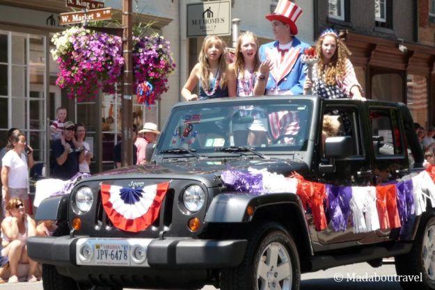 Parade del 4 de julio en Leesburg, VirginiaParade del 4 de julio en Leesburg, Virginia