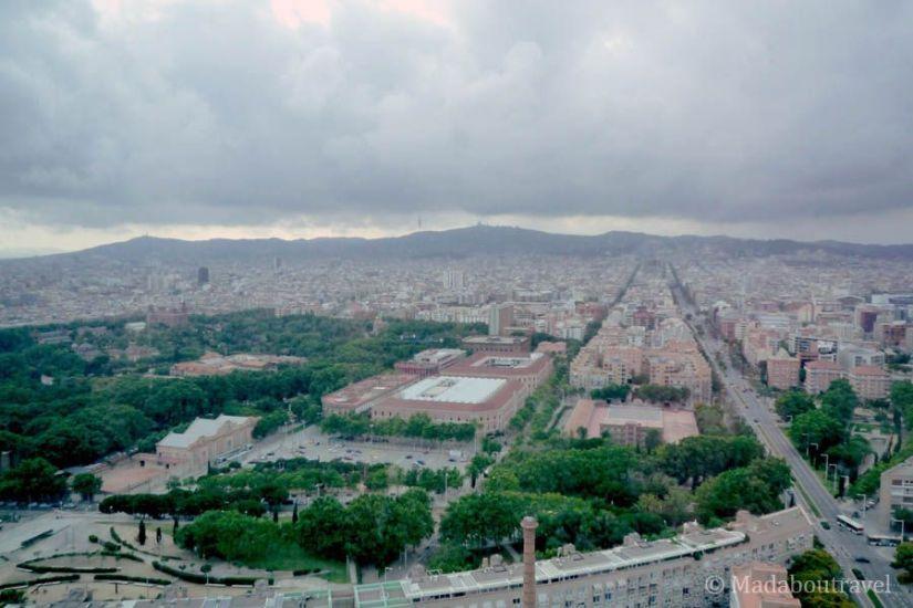 Vistas de Barcelona desde una suite del Hotel Arts