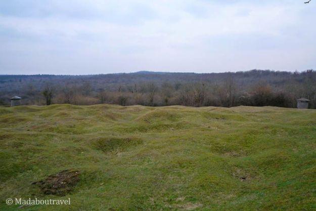Campo de batalla de Verdún, en la Lorena