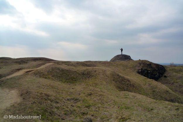 Superficie del fuerte de Douaumont en Verdún
