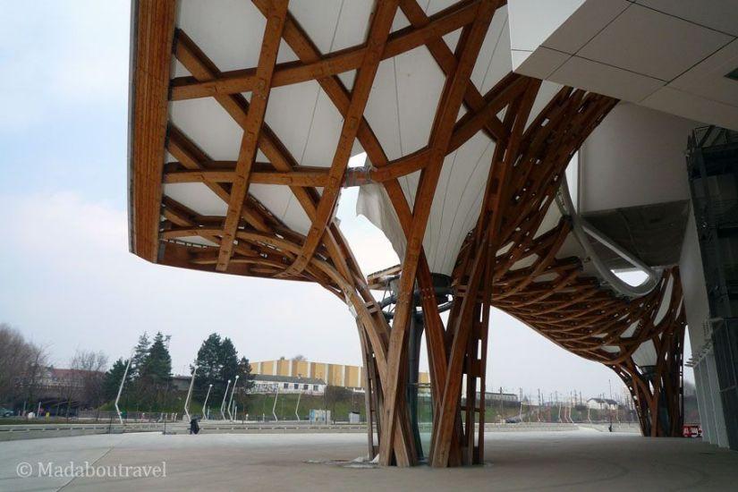 Exterior del Centro Pompidou de Metz