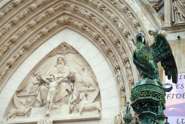 Detalle de la basílica de Saint Epure en Nancy