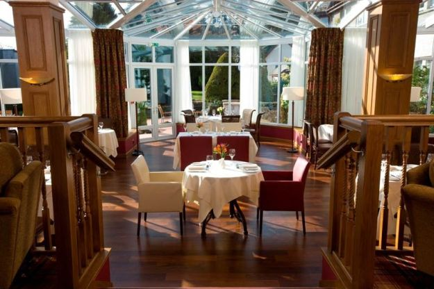 The Conservatory restaurant at the Kingsmills Hotel