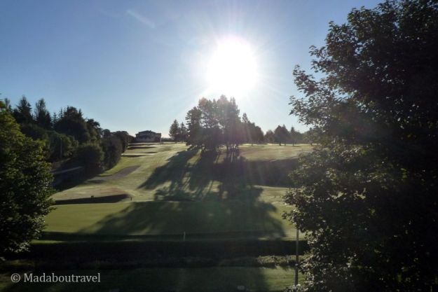 Early morning from my balcony at the Kingsmills Hotel