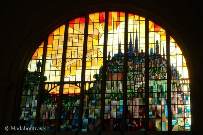 Vidrieras de la Gare de Luxemburgo