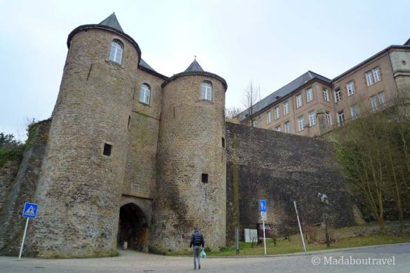 La puerta de las Tres Torres de Luxemburgo
