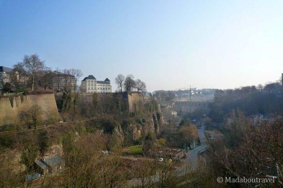 Vistas del valle de la Petrusse