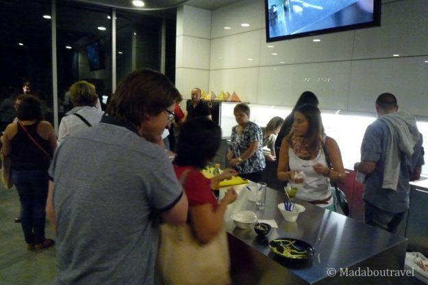Taller de cocina en la Fundación Alícia