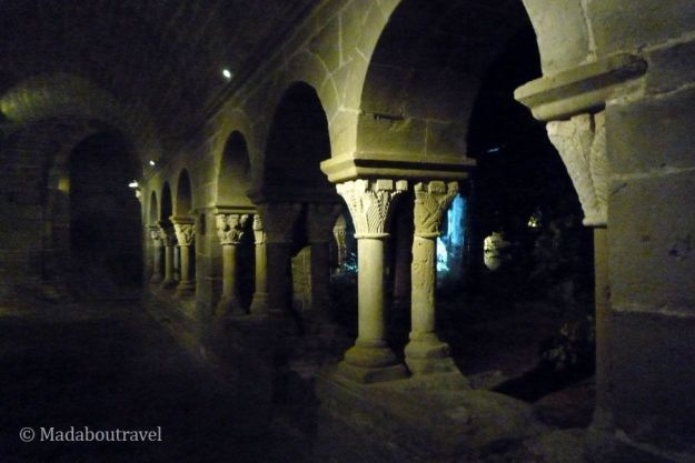 El claustro románico de Sant Benet del Bages