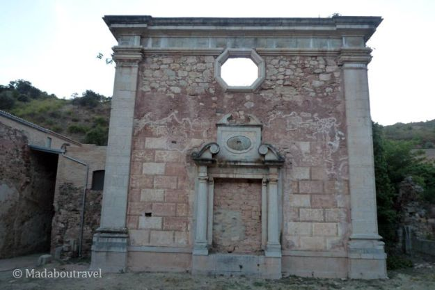 La capilla del Sagrario en Escaladei