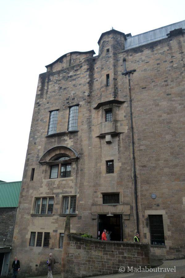 Lateral de la Escuela de Arte de Glasgow
