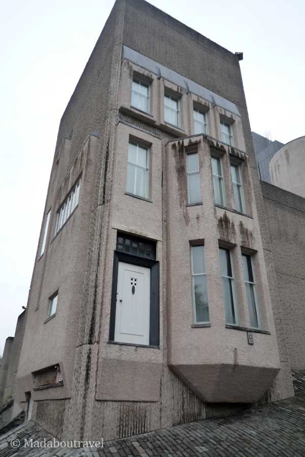 La casa de Mackintosh en Glasgow