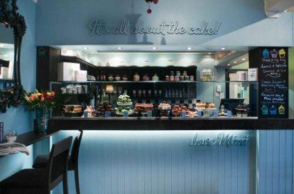 Interior de Mimi's Bakehouse en Leith