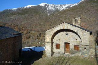 Una antigua capilla reconvertida en València d'Àneu