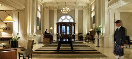 Vestíbulo del Hotel Balmoral