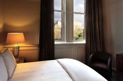 Vistas al Castillo desde el Hotel Caledonian