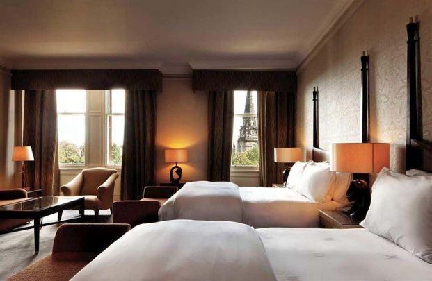 Las habitaciones del Caledonian Hotel, un lujo