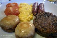Full Scottish Breakfast en Torlundy House