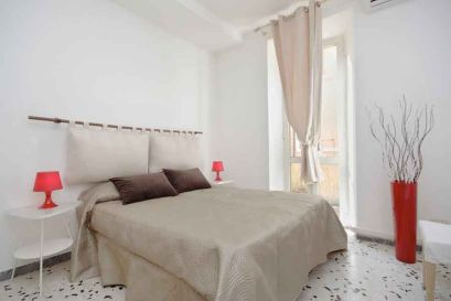 Una de las habitaciones de nuestro apartamento en Roma