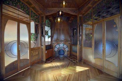 Interior de la Casa Lleó Morera © Emilia Mola / Casa Lleó i Morera