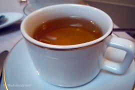 Y, por supuesto, un té buenísimo