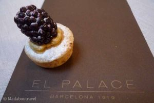 Afternoon tea en el Hotel Palace