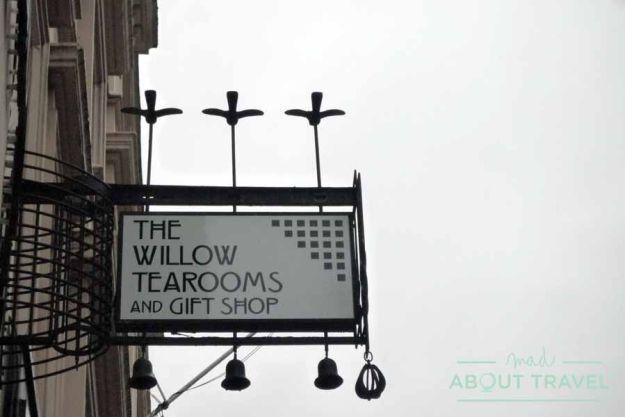 Willow Tea Rooms en Sauchiehall Street, Glasgow