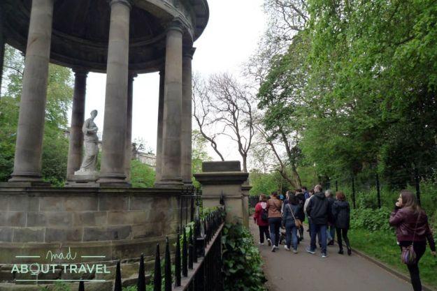 El Water of Leith Walkway, un remanso de paz en Edimburgo