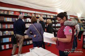 Librería en el Festival Internacional del Libro de Edimburgo