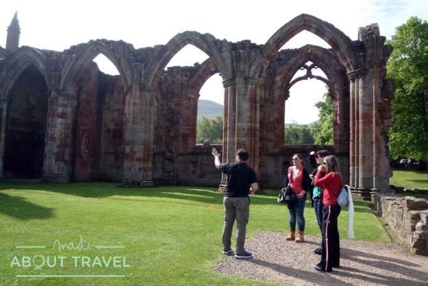 Visita a la Abadía de Melrose