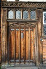 Puerta Tudor en Stratford