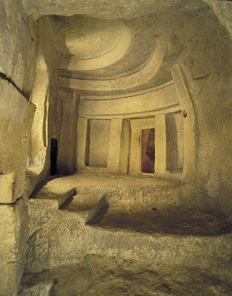 Sancta Sanctorum Hipogeo de Hal Saflieni © Heritage Malta