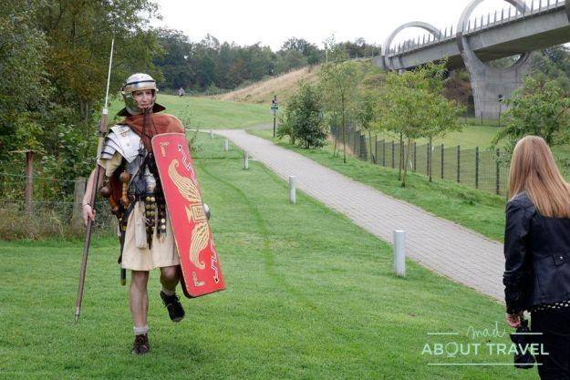 Visita al muro de Antonino con Real Roman Tours
