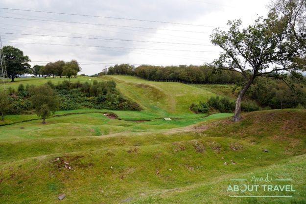 Visita al fuerte de Rough Castle en Falkirk con Real Roman Tours