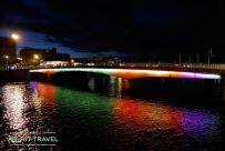 Puente sobre el río Ness en Inverness