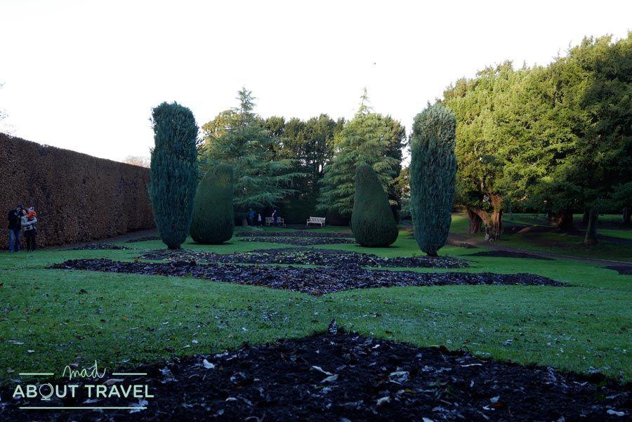 Jardines del castillo de Dirleton