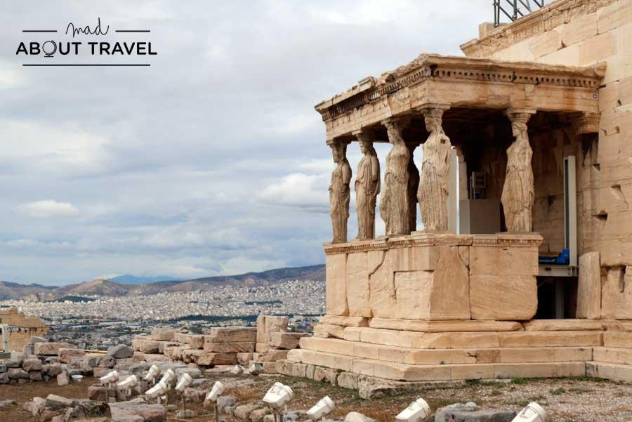 Atenas Erecteion Cariátides
