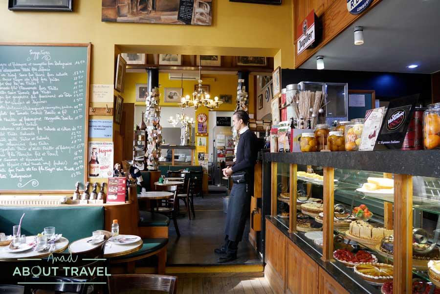 Cafetería Arcadí en Bruselas