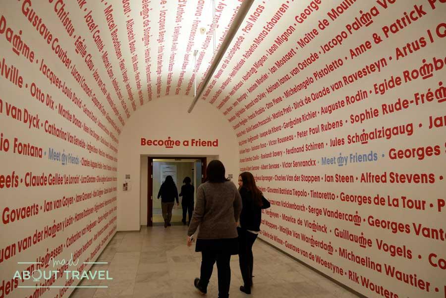 Museo Magritte de Bruselas