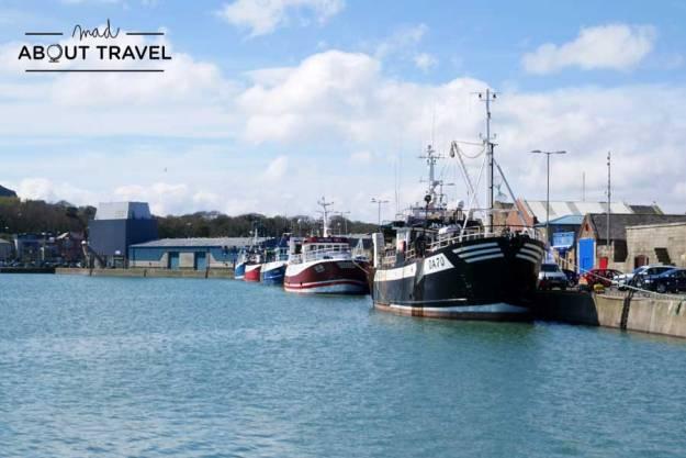 Puerto de pescadores en Howth