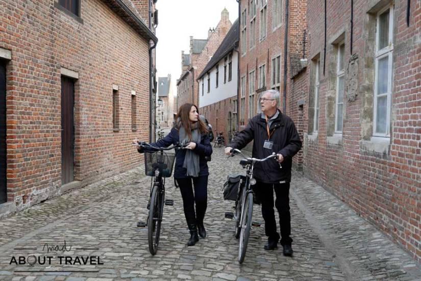 Ruta en bicicleta por Lovaina