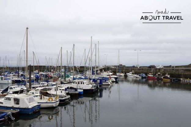 Pueblo pesquero de Anstruther en el East Neuk de Fife en Escocia
