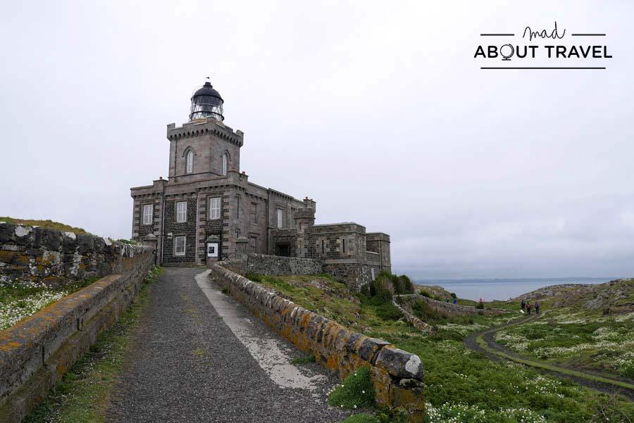 Faro de Robert Stevenson en la isla de May