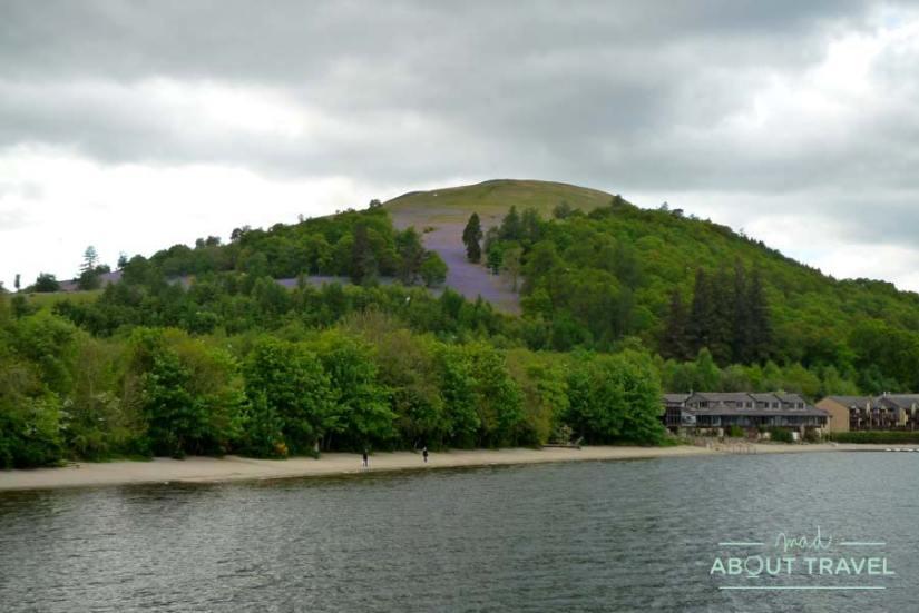 Playa de Luss a orillas del Loch Lomond