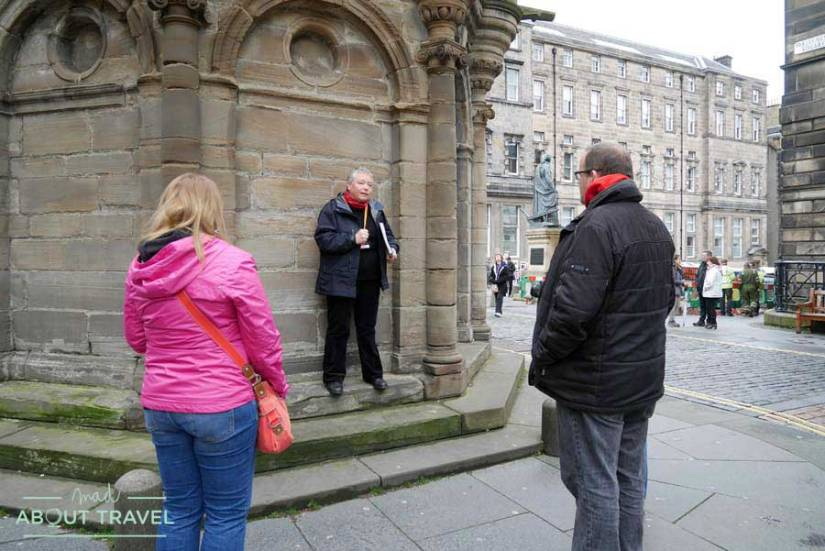 Tour Outlander Mercat Cross de Edimburgo