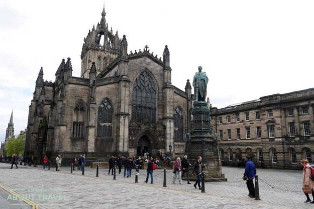 Tour Outlander Catedral de St Giles Edimburgo