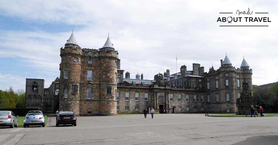 Tour de Outlander en Edimburgo - Palacio de Holyrood