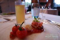 Cena en la Carberry Tower