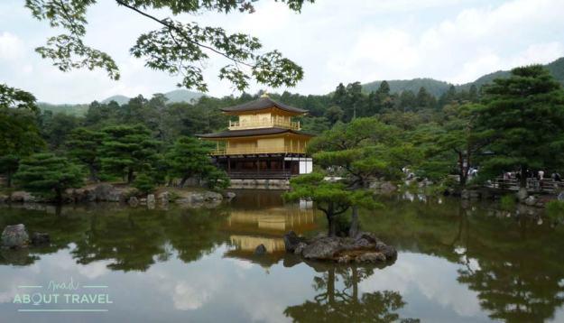 Pabellón dorado, Kioto, Japón